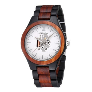Luxury Quartz Wooden Watch