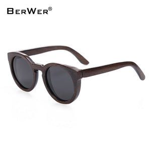 High Quality Bamboo Wooden Sunglasses