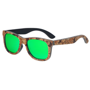 Polarised Cork Wooden Sunglasses