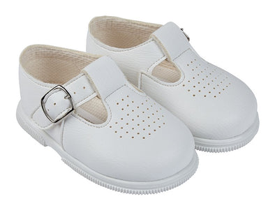 Baypods H501 in white - Early Days Baby and Toddler Shoes for Boys and Girls