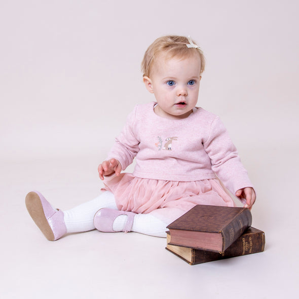 Early Days EMMA in pink glitter - Early Days Baby and Toddler Shoes for Boys and Girls