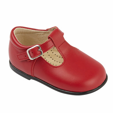 Early Days ALEX II in Panama red - Early Days Baby and Toddler Shoes for Boys and Girls