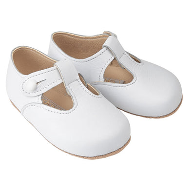 Early Days ALEX in white - Early Days Baby and Toddler Shoes for Boys and Girls