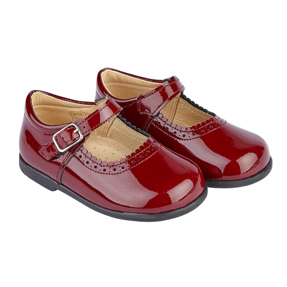 Early Days ALICE in burgundy patent - Early Days Baby and Toddler Shoes for Boys and Girls