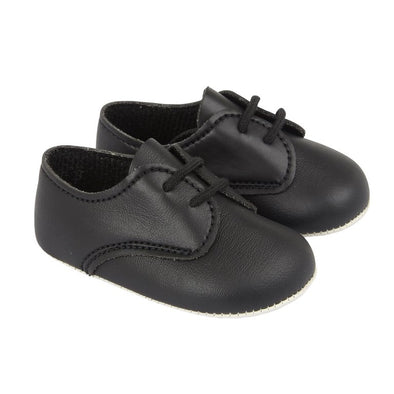 Baypods B010 in black - Early Days Baby and Toddler Shoes for Boys and Girls