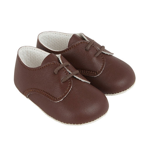 Baypods B010 in brown - Early Days Baby and Toddler Shoes for Boys and Girls