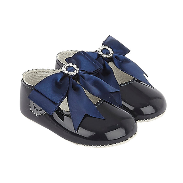 Baypods B060 in navy patent - Early Days Baby and Toddler Shoes for Boys and Girls