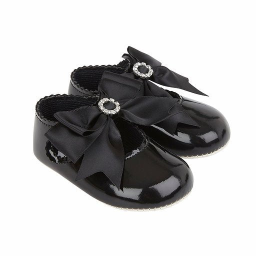 Baypods B060 in black patent - Early Days Baby and Toddler Shoes for Boys and Girls