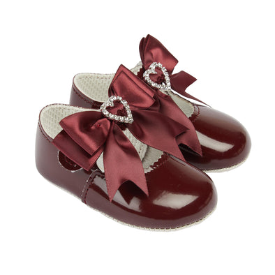 Baypods B062 in burgundy patent - Early Days