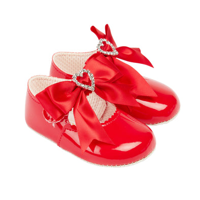 Baypods B062 in red patent - Early Days