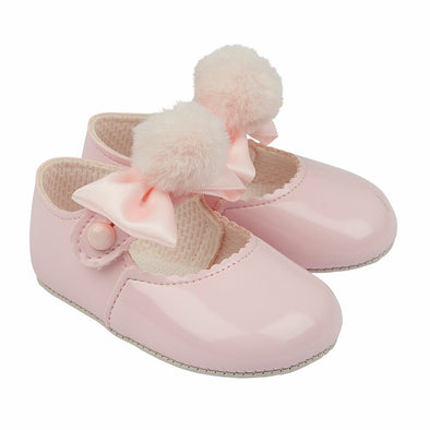 Baypods B066 in pink patent - Early Days Baby and Toddler Shoes for Boys and Girls