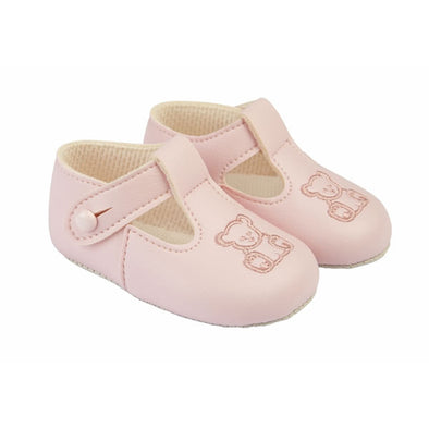 Baypods B117 in pink/pink - Early Days Baby and Toddler Shoes for Boys and Girls
