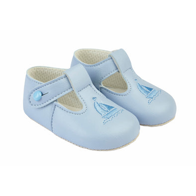 Baypods B119 in sky/sky - Early Days Baby and Toddler Shoes for Boys and Girls