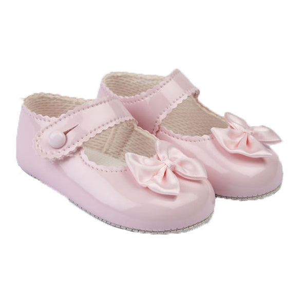 Baypods B604 in pink patent - Early Days Baby and Toddler Shoes for Boys and Girls