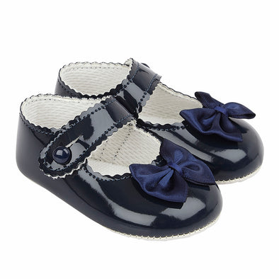Baypods B604 in navy patent - Early Days Baby and Toddler Shoes for Boys and Girls