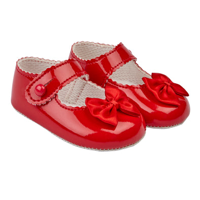 Baypods B604 in red patent - Early Days Baby and Toddler Shoes for Boys and Girls