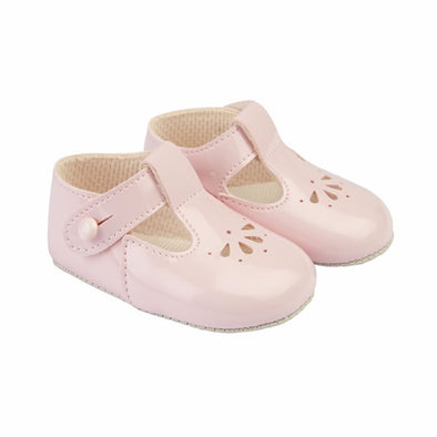 Baypods B617 in pink patent - Early Days Baby and Toddler Shoes for Boys and Girls