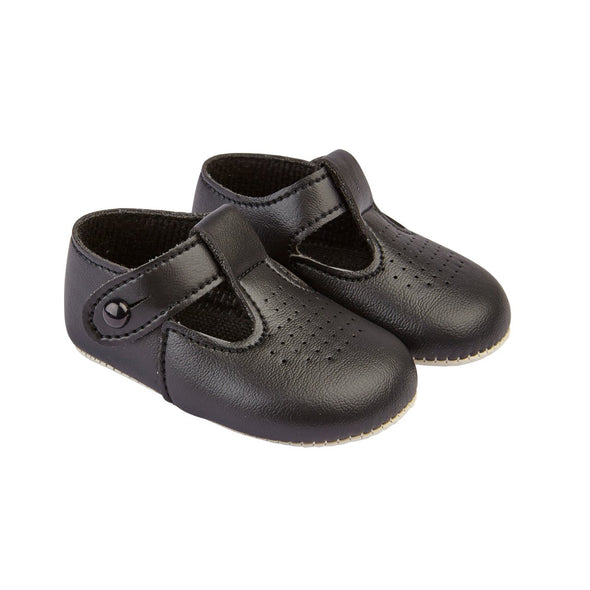 Baypods B625 in black - Early Days Baby and Toddler Shoes for Boys and Girls