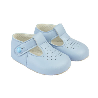 Baypods B625 in sky - Early Days Baby and Toddler Shoes for Boys and Girls