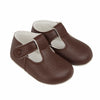 Baypods B625 in brown - Early Days Baby and Toddler Shoes for Boys and Girls
