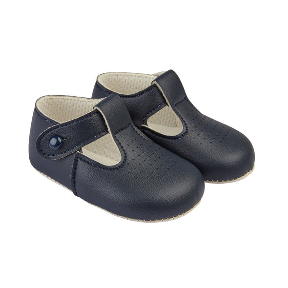 Baypods B625 in navy - Early Days Baby and Toddler Shoes for Boys and Girls