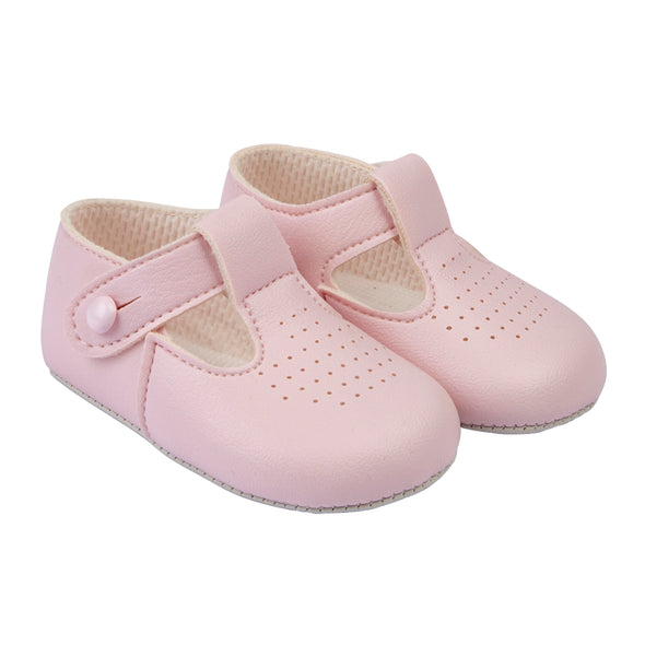 Baypods B625 in pink - Early Days Baby and Toddler Shoes for Boys and Girls