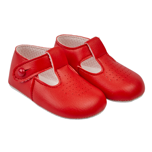Baypods B625 in red - Early Days Baby and Toddler Shoes for Boys and Girls