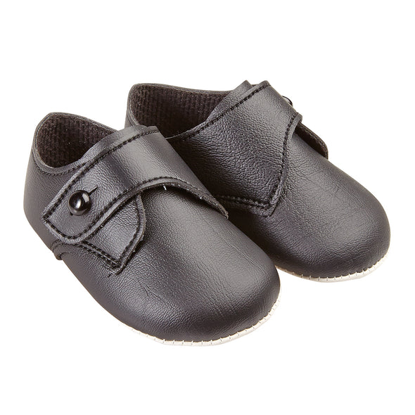 Baypods B626 in black - Early Days Baby and Toddler Shoes for Boys and Girls