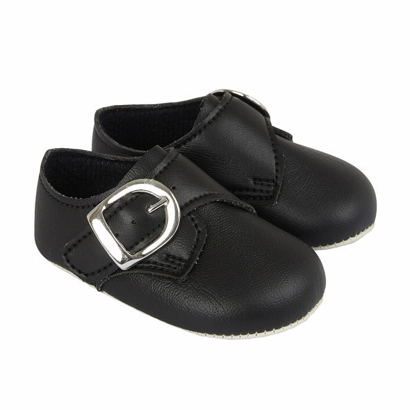 Baypods B656 in black - Early Days Baby and Toddler Shoes for Boys and Girls