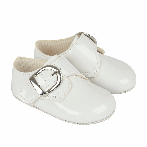 Baypods B656 in white - Early Days Baby and Toddler Shoes for Boys and Girls