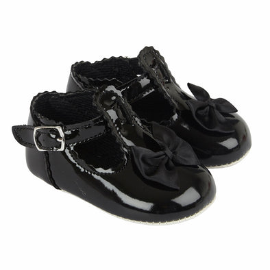 Baypods B861 in black - Early Days Baby and Toddler Shoes for Boys and Girls