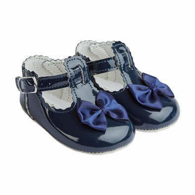 Baypods B861 in navy - Early Days Baby and Toddler Shoes for Boys and Girls