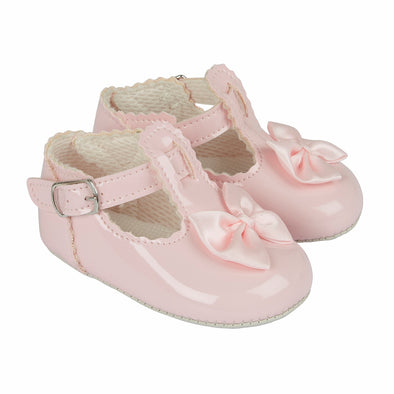 Baypods B861 in pink - Early Days Baby and Toddler Shoes for Boys and Girls