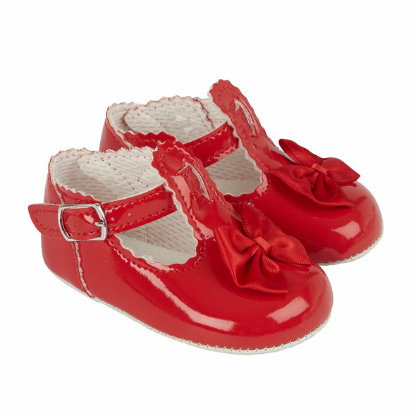 Baypods B861 in red - Early Days Baby and Toddler Shoes for Boys and Girls