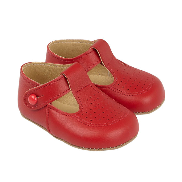 Early Days BAILEY in red - Early Days Baby and Toddler Shoes for Boys and Girls