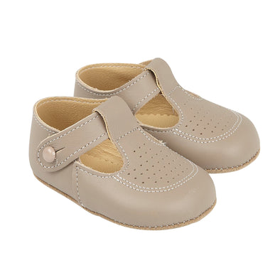 Early Days BAILEY in taupe - Early Days Baby and Toddler Shoes for Boys and Girls