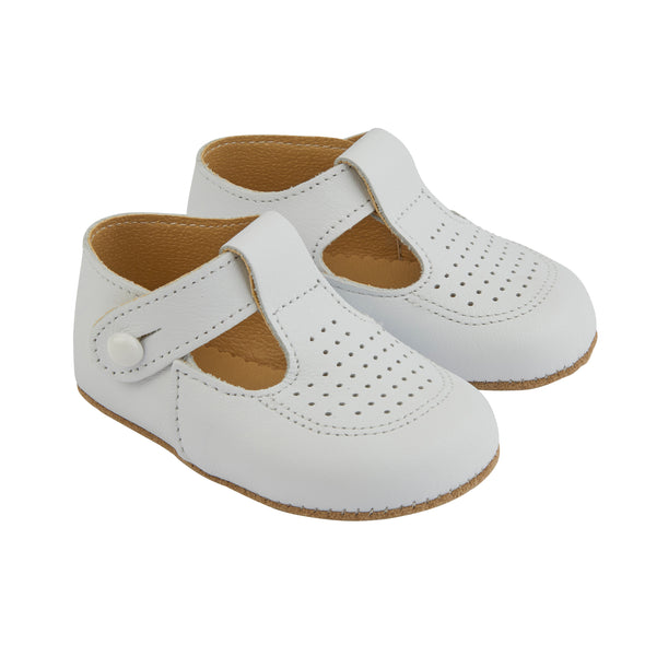 Early Days BAILEY in white - Early Days Baby and Toddler Shoes for Boys and Girls