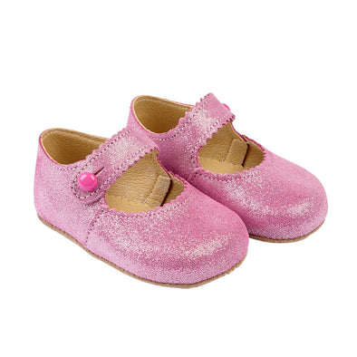 Early Days EMMA in cerise glitter - Early Days Baby and Toddler Shoes for Boys and Girls