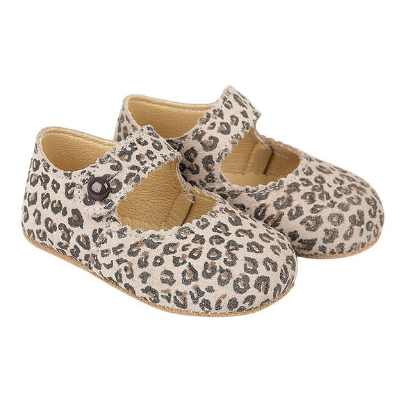Early Days EMMA in leopard - Early Days Baby and Toddler Shoes for Boys and Girls