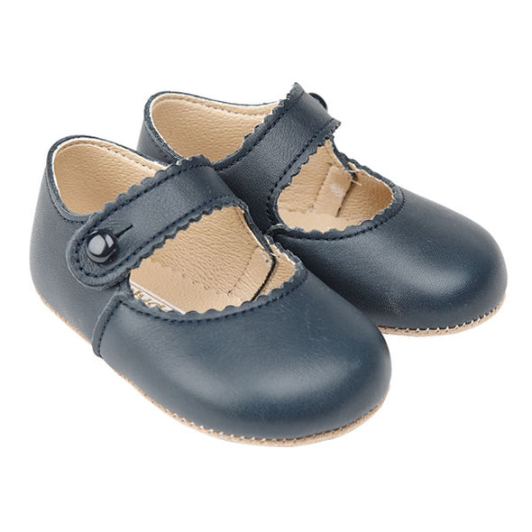 Early Days EMMA in navy - Early Days Baby and Toddler Shoes for Boys and Girls