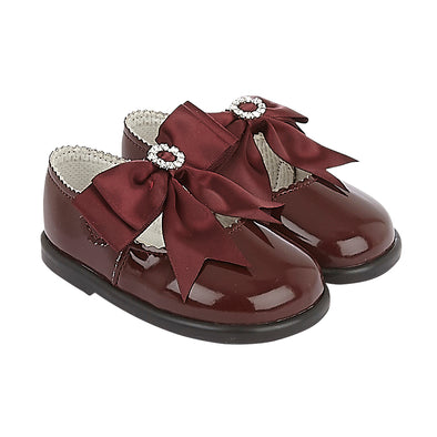 Baypods H035 in burgundy patent - Early Days Baby and Toddler Shoes for Boys and Girls