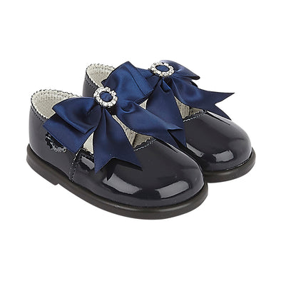 Baypods H035 in navy patent - Early Days Baby and Toddler Shoes for Boys and Girls