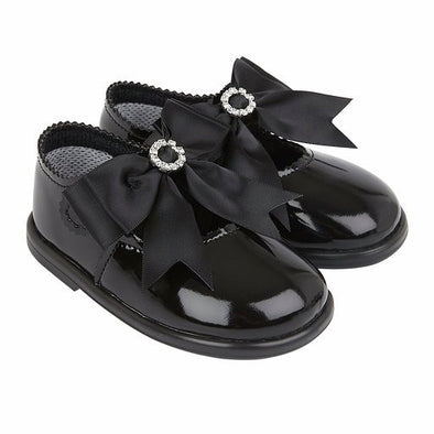 Baypods H035 in black patent - Early Days Baby and Toddler Shoes for Boys and Girls