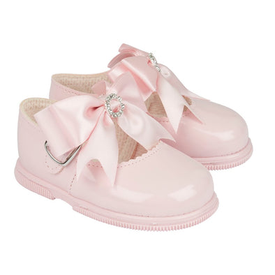 Baypods H035 in pink patent - Early Days Baby and Toddler Shoes for Boys and Girls