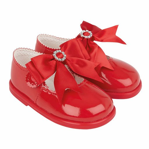 Baypods H035 in red patent - Early Days Baby and Toddler Shoes for Boys and Girls