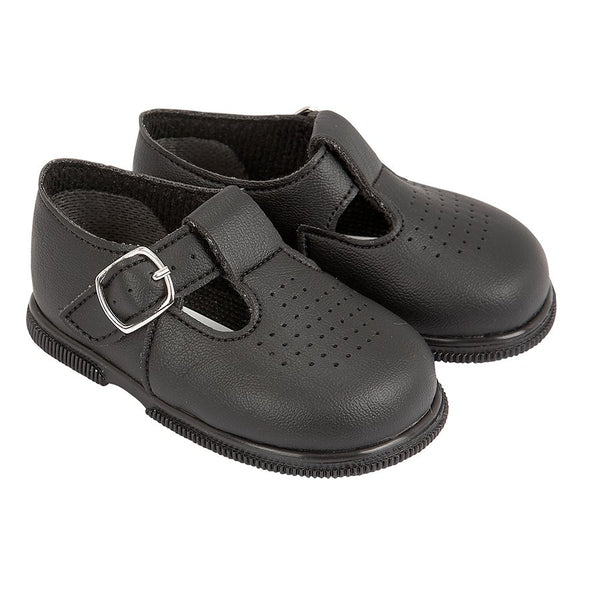 Baypods H501 in black - Early Days Baby and Toddler Shoes for Boys and Girls