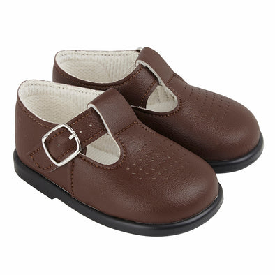 Baypods H501 in brown - Early Days Baby and Toddler Shoes for Boys and Girls
