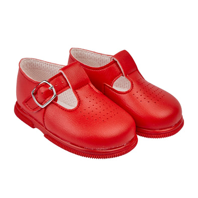Baypods H501 in red - Early Days Baby and Toddler Shoes for Boys and Girls