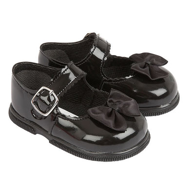 Baypods H505 in black patent - Early Days Baby and Toddler Shoes for Boys and Girls