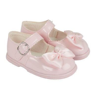 Baypods H505 in pink patent - Early Days Baby and Toddler Shoes for Boys and Girls